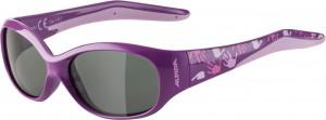 Slunecní brýle  Alpina Flexxy Kids Obrouc.fial.-ružová sklo cerná