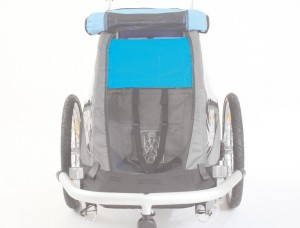 ZweiPlusZwei - Sonnensegel f�r Kinderanh�nger Kid for 1 f�r Croozer Kid for 1,iceblue, f.1Sitzer