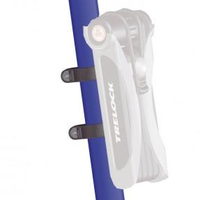 Trelock - Halter f�r Trelock-Faltschloss FS 455 ZC 401 silber