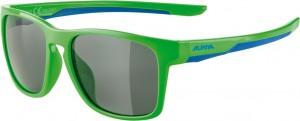 Slunecní brýle  Alpina FlexxyCool Kids I Obroucky neon-zel.modrá sklo cerná