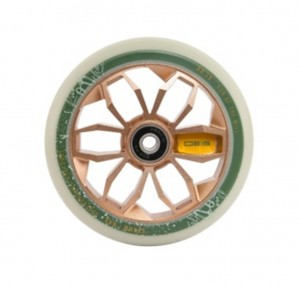 PU-kolecko sk8te4u 0815 Wheels bronzová, kolecko 120mm, za kus