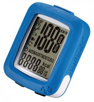 compteur vélo Maia 10 fonctions, bleu