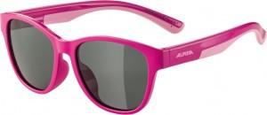 Slunecní brýle  Alpina FlexxyCool Kids I Obroucky ružová sklo cerná