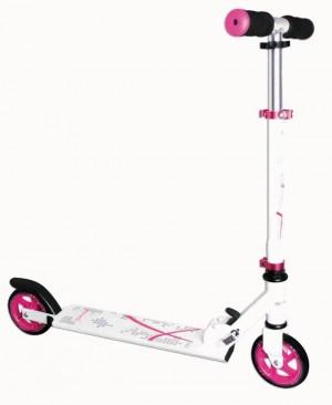 "Scooter Muuwmi ST Aluminium 5"", 347 bílá/pink 125mm"