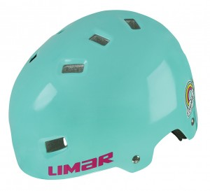 Cyklistická helma Limar 306, Seawater/Rainbow  vel.S (50-54cm)