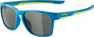 Slunecní brýle  Alpina FlexxyCool Kids I Obroucky modrá limet.sklo cerná