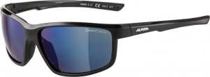Slunecní brýle  Alpina Defey Obroucky cerná sklo modrá zrcadl.