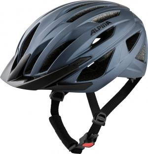Cykl.helma Alpina Delft Mips indigo mat. vel.51-56cm