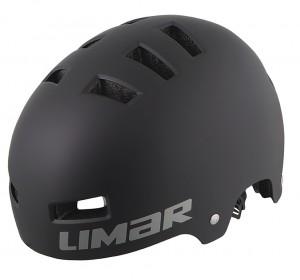 Cyklistická helma Limar 360°, matná cerná vel.L (57-62cm)
