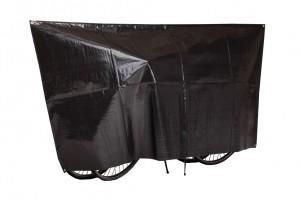 VK Housse de protection Duo VK p.2 vélos 130 x 250 cm, couleur noir