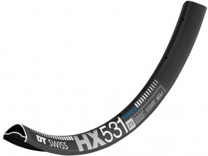 "Ráfek DT Swiss HX 531 27,5""/30mm cerná, 584-30 prumer ventilu 6,5mm 32 der"