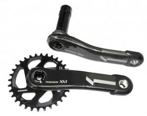 KRG Sram XX1 Schwarz X-Sync BB30, 170mm - Rennrad kaufen & Mountainbike kaufen - bikecenter.de