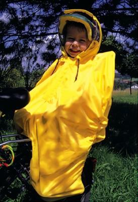 protection pluie Hock Rain-Bow uni/jaune pour enfant