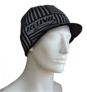 bonnet gris foncé/gris taille uni