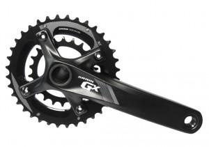 KRG Sram GX 1000 Schwarz GXP, 170mm - Rennrad kaufen & Mountainbike kaufen - bikecenter.de