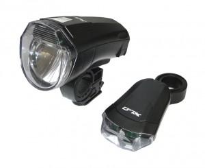 XLC LED Batterieleuchten-Set CL-S14 - Pulsschlag Bike+Sport
