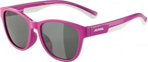 Slunecní brýle  Alpina FlexxyCool Kids I Obroucky bobule-bílá sklo cerná