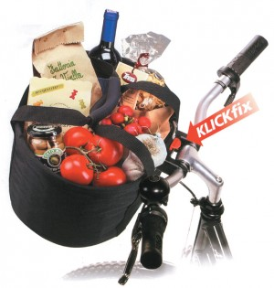 Shopper-Tasche KLICKfix Comfort Mini - Rennrad kaufen & Mountainbike kaufen - bikecenter.de