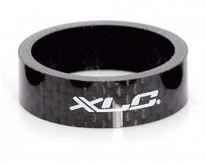 "Podložka XLC A-Head Spacer 10 mm, 1"", Carbon"