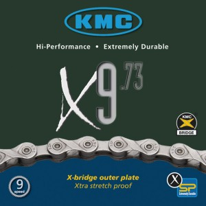 Chaîne KMC X-9-73 9v