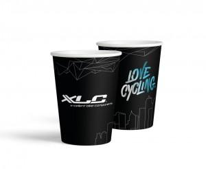XLC karton.kelímky na pití-kompostovat. 1 ks = 1 Stange mit 50 Pappbechern