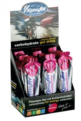 Carbohydrate Gel Drink-Display Xenofit - Bikesport Scheid - Ihr Fahrradfachgeschäft im Saarland