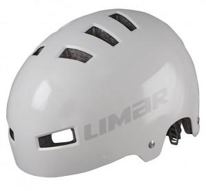 Cyklistická helma Limar 360°, šedá vel.M (52-59cm)