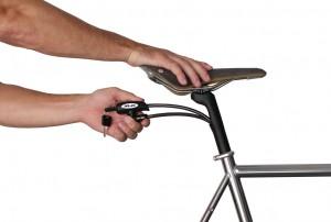 XLC Sattelstütze mit Kabelschloss - Pulsschlag Bike+Sport