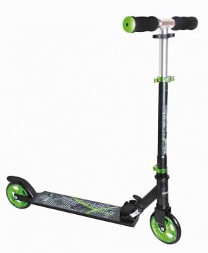 "Scooter Muuwmi ST Aluminium 5"", 346 cerná/zelená 125mm"