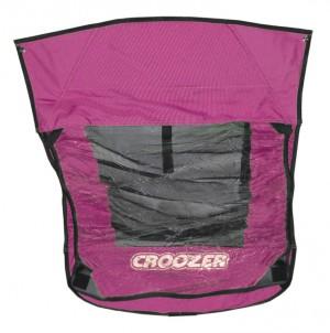 ZweiPlusZwei - Verdeck 2in1 f�r Kinderanh�nger Croozer f.Croozer Kid for 2 Mod. 2012 pink