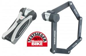 Faltschloss Trelock Dragonline m. Halter - BikesKing e-Bike Dreirad Center Magdeburg