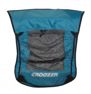 ZweiPlusZwei - Verdeck 2in1 f�r Kinderanh�nger Croozer f.Croozer Kid for 1 Mod.2010 iceblue
