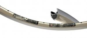 """Rigida Flyer 28"""" 622-13 32 děr stříbrný"""