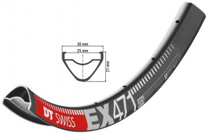 Felge DT Swiss EX 471 27.5´´ schwarz - Pulsschlag Bike+Sport