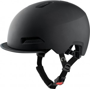 Cykl.helma Alpina Brooklyn cerná mat. vel.52-57cm