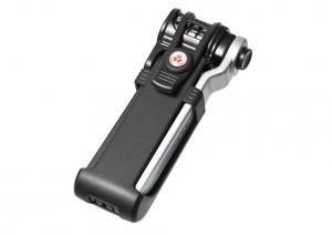 Trelock - Faltschloss Trelock Code Kombi m.Halter FS 300/85 Code schwarz mit Halter ZC 300