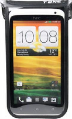 sacoche smartphone T-One Akula II PU, noire, àtanche, 148x75x10 mm
