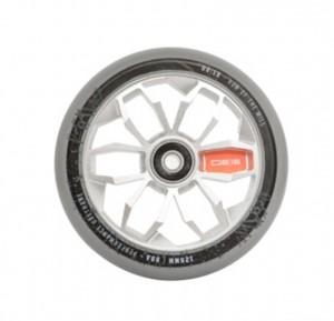 PU-kolecko sk8te4u 0815 Wheels stríbrná, kolecko 120mm, za kus