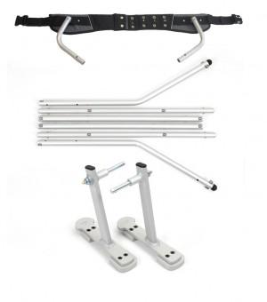 Ski Adapter Set f.Kinderanhänger XLC - Pulsschlag Bike+Sport