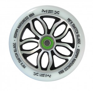 Madd Gear MFX Switchblade bílé 120mm (ks)