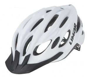 Cyklistická helma Limar Scrambler, bílá vel.L (57-61cm)