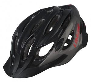 Cyklistická helma Limar Scrambler, cerná/titan vel.L (57-61cm)