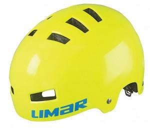 Cyklistická helma Limar 360° Teen, žlutá vel.M (52-59cm)