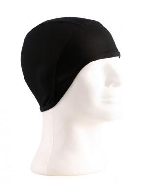 casquette sous casque noir taille uni