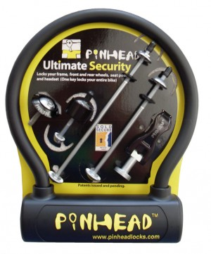 Diverse - Pinhead-Ultimate Pack VR+HR+Sattel+Lenkerschl.+Bubble Lock