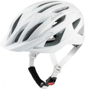 Cykl.helma Alpina Delft Mips bílá mat. vel.51-56cm