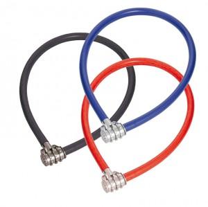 Trelock - Kabelschloss Cyclemate 50cm, � 12mm CKS 160/50/12,Kombi,schwz/rot/blau sort.