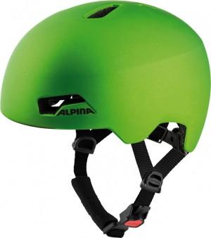Cykl.helma Alpina Hackney zelená žába mat. vel.47-51