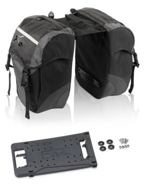 XLC Doppelpacktasche carry more - Pulsschlag Bike+Sport