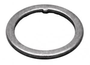 """hlav.slož.-kroužek s výstupkem 1"""" 1,5 mm, stríbrná"""